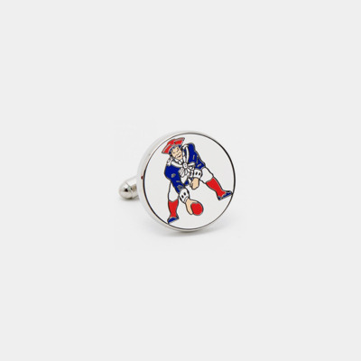 Stainless Steel Vintage Patriots Cufflinks