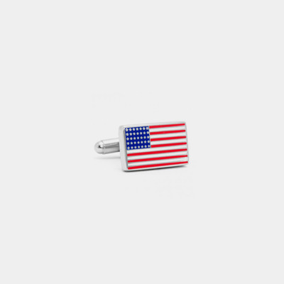 American Flag Cufflink