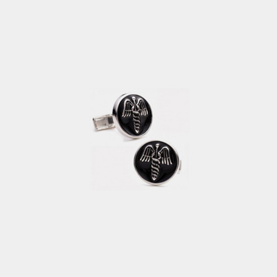 Sterling Silver Medical Cufflinks