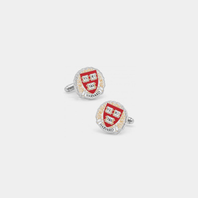 Stainless Steel Harvard Cufflinks