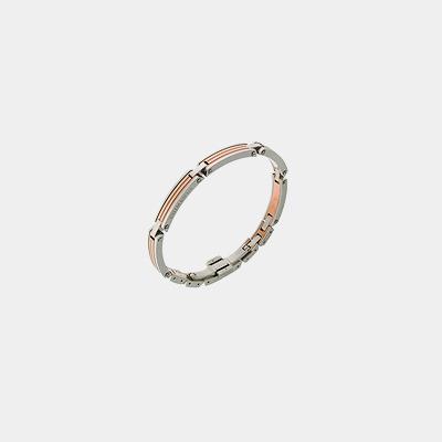 Rose PVD Stainless Steel Bracelet
