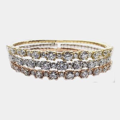Flexible Diamond Bangle