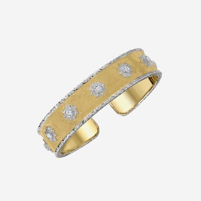 18kt Diamond Bangle Cuff