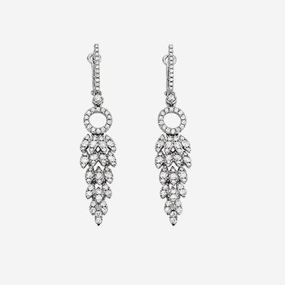 18kt Diamond Drop Earrings
