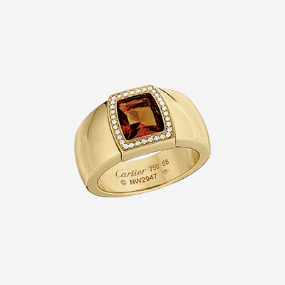 18kt Cartier Citrine Ring