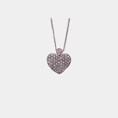 Diamond Heart Locket