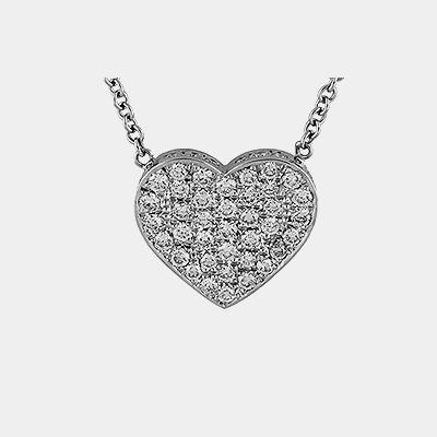Diamond Heart Pendant