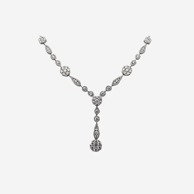 18kt Elegant Diamond Necklace