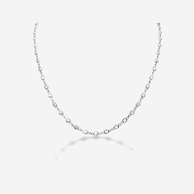 18kt Diamond Chain