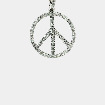 Diamond Peace Symbol