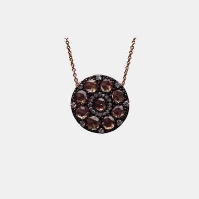 Color Diamond Necklace
