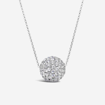 18kt Diamond Ball