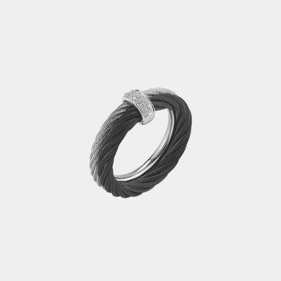 Double Nautical Cable Ring