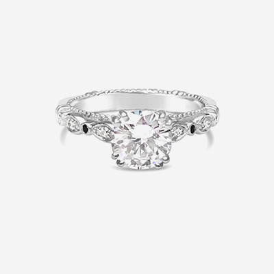 Platinum Verragio Engagement Ring