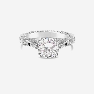 Platinum Verragio Engagement Ring