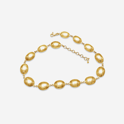 23kt Gurhan Bead Link Necklace