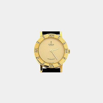 18kt Corum Romulus Diamond Watch
