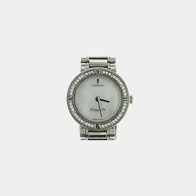 Stainless Steel Diamond Corum Romulus Watch