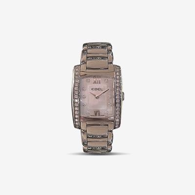 Stainless Steel EBEL Brasilia Diamond Watch