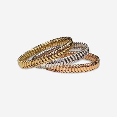 18kt Chimento Armillas Half Moon Cuff Bracelet