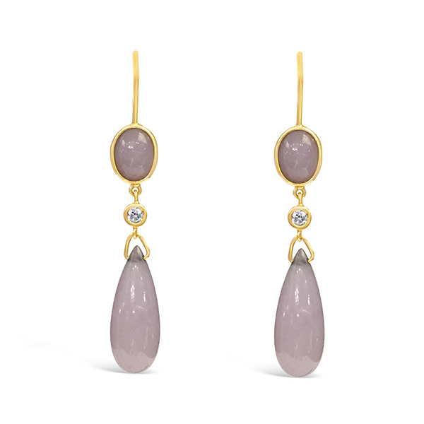 earrings product purple lavender danbury and jade gold mint lovely