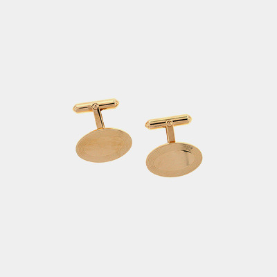 Gold Filled Engravable Cufflinks