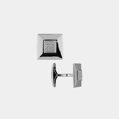 18kt Diamond Pave Cufflinks