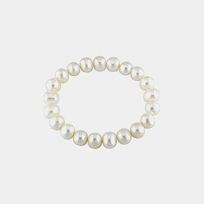 Stretch Freshwater Pearl Bracelet