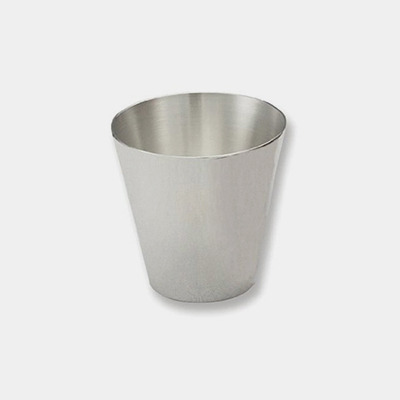Silver Jigger/ Shot Glass