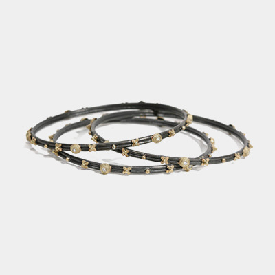 Midnight And Gold Bangle