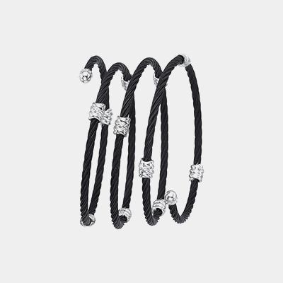 Black Coil Bracelet