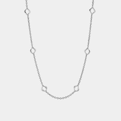 Wave Link Necklace