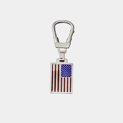 American Flag Enamel Key Chain