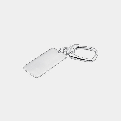 Sterling Silver ID Key Chain