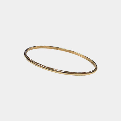 Polished Plated Bangle