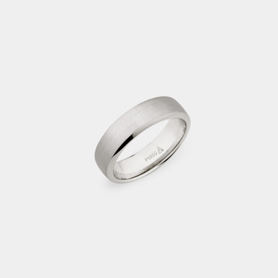 18kt Plain Polished Edge Wedding Ring