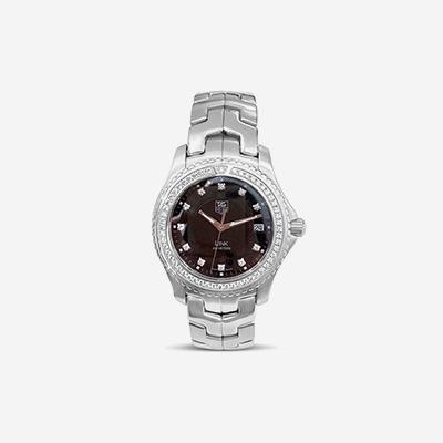 Tag Heuer stainless steel Diamond watch