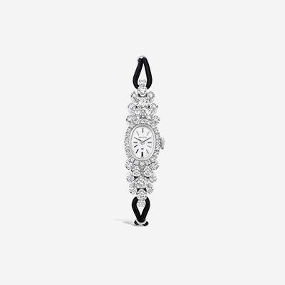 14kt diamond Hamilton watch