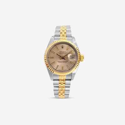 Rolex Datejust silver stick dial