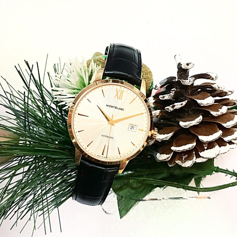 E.B. Horn Montblanc watch