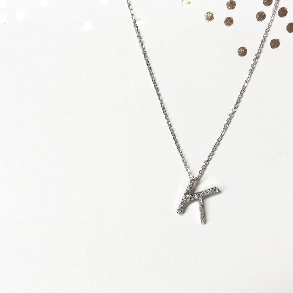 EB Horn Diamond Necklace