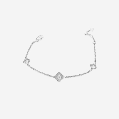 18kt Chopard Happy Sport Diamond Bracelet