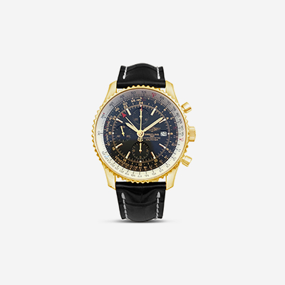 18kt Breitling Navitimer World Limited Edition