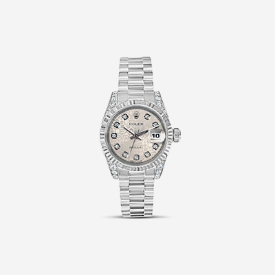 18kt Ladies Diamond Rolex