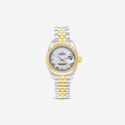 Two tone Rolex Date Just Ladies Watch