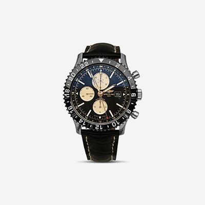 Breitling Chronoliner Black Dial