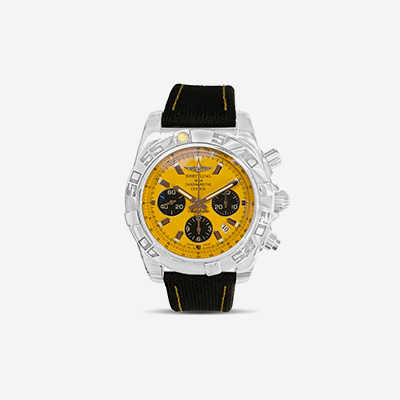 Limited Edition Yellow Breitling Chronomat 44