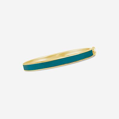 Turquoise hinge bracelet