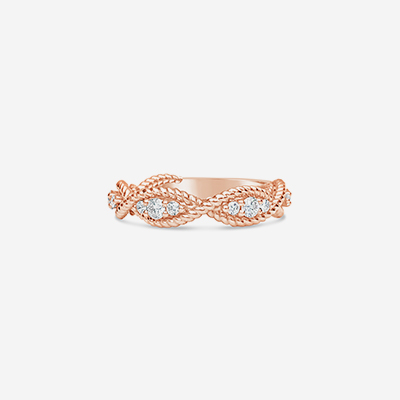 14kt swirl bead edge wedding band