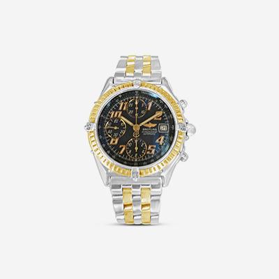18kt & titanium Breitling Chronograph